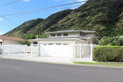 Aina Haina Single Family Home For Sale: 1164 Hind Iuka Drive