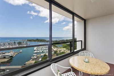Honolulu Condo/Townhouse For Sale: 1650 Ala Moana Boulevard #2007