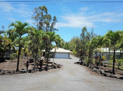 Keaau Single Family Home For Sale: 15-879 Lemiwai Road
