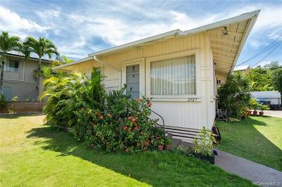 Honolulu Single Family Home For Sale: 2127 Kalihi Street