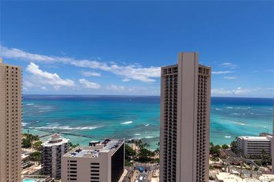 Honolulu Condo/Townhouse For Sale: 2427 Kuhio Avenue #2904