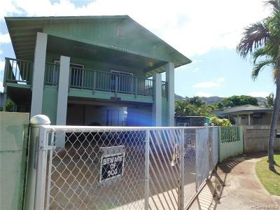 Waianae Single Family Home For Sale: 84-646 Kepue Street