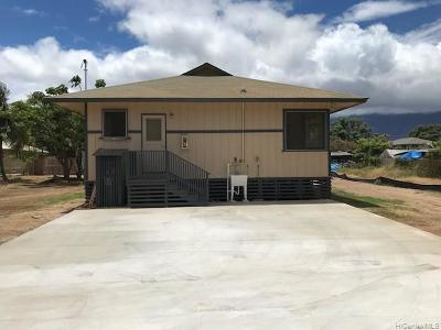 Waianae Single Family Home For Sale