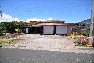 Pearl City Single Family Home For Sale: 98-1494 Hoomahie Loop