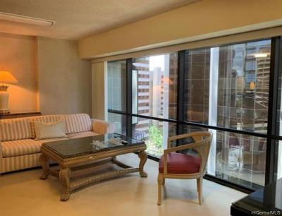 Honolulu Condo/Townhouse For Sale: 1088 Bishop Street #1507