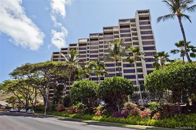 Honolulu Condo/Townhouse For Sale: 555 Hahaione Street #12G