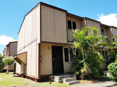 Pearl City Condo/Townhouse For Sale: 98-930 Noelani Street #A