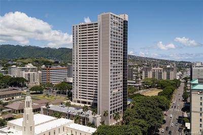 Honolulu Condo/Townhouse For Sale: 1212 Punahou Street #2904