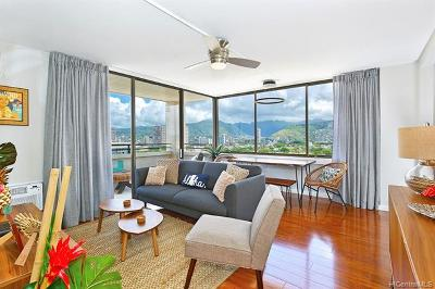 Honolulu HI Condo/Townhouse For Sale: $520,000