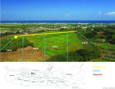 Honolulu County Residential Lots & Land For Sale: Kamehameha Highway #4