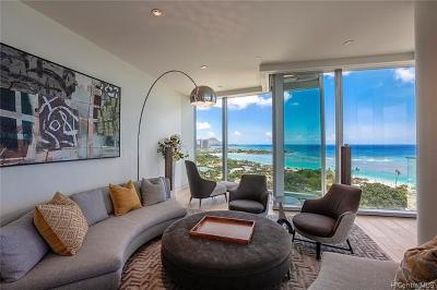 Honolulu Condo/Townhouse For Sale: 1118 Ala Moana Boulevard #1600