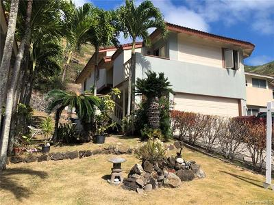 Single Family Home For Sale: 830 Kealahou Street