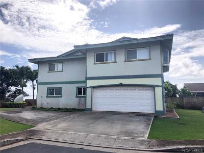 Waipahu Single Family Home For Sale: 94-102 Heahea Place