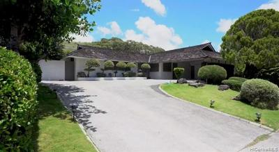 Single Family Home For Sale: 4558 Waikui Street