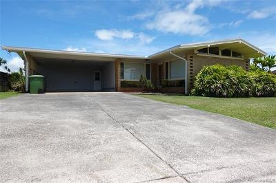 Single Family Home For Sale: 401 Iliwai Drive