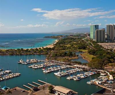 Honolulu Condo/Townhouse For Sale: 1700 Ala Moana Boulevard #2401