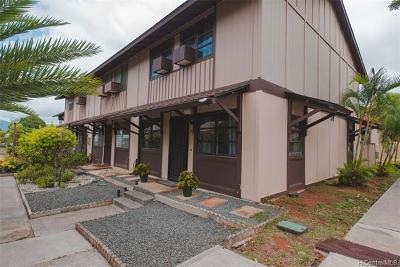 Mililani Condo/Townhouse For Sale: 94-084 Anania Drive #133