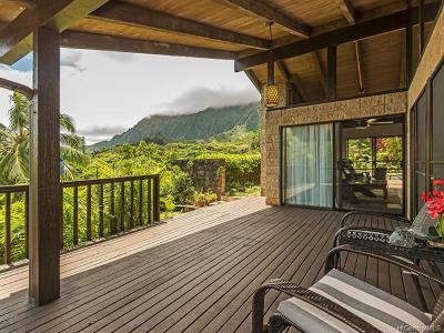 Kaneohe Single Family Home For Sale: 47-689 Mapele Road