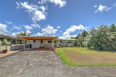 Pearl City Single Family Home For Sale: 1932 Hoolehua Street