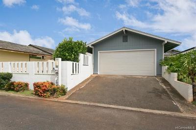 Mililani HI Single Family Home For Sale: $759,000