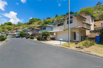 Aiea Single Family Home For Sale: 99-868 Holoai Street