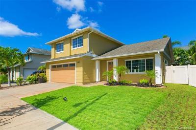 Ewa Beach Single Family Home For Sale: 91-1080 Hoowalea Street