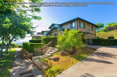 Kapolei Single Family Home For Sale: 92-1523 Makakilo Drive