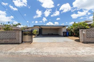 Honolulu Single Family Home For Sale: 1369 Uila Street