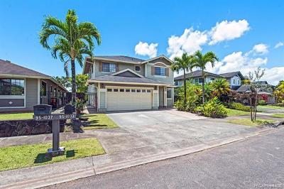 Mililani HI Single Family Home For Sale: $950,000