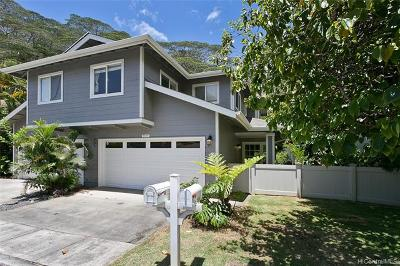 Mililani HI Single Family Home For Sale: $613,000