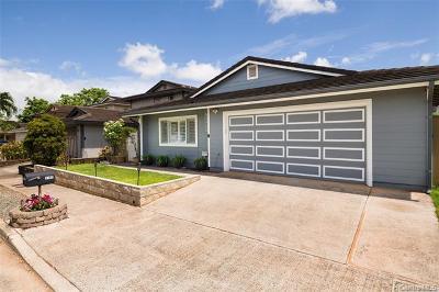 Waipahu Single Family Home For Sale: 94-1191 Nanilihilihi Street