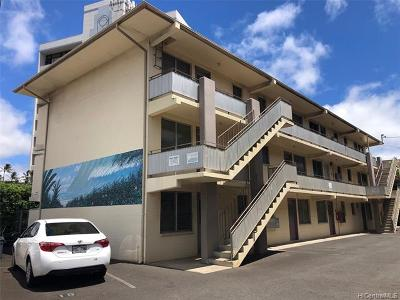 Honolulu County Condo/Townhouse For Sale: 2765 Kapiolani Boulevard #201