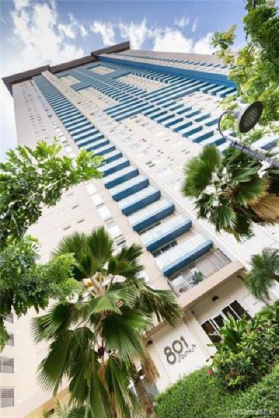 Honolulu Condo/Townhouse For Sale: 801 South Street #2310