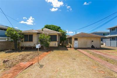 Honolulu Single Family Home For Sale: 822 8th Avenue