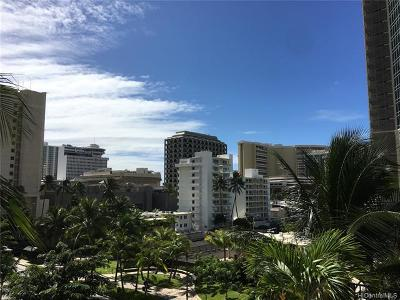 Honolulu Condo/Townhouse For Sale: 2140 Kuhio Avenue #502