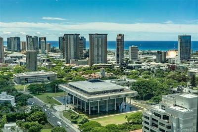 Honolulu Condo/Townhouse For Sale: 1200 Queen Emma Street #3708