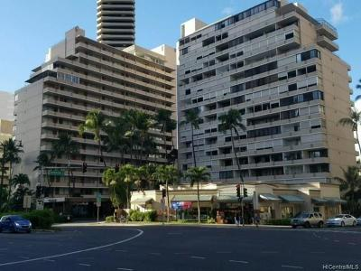Honolulu Condo/Townhouse For Sale: 1720 Ala Moana Boulevard #705A