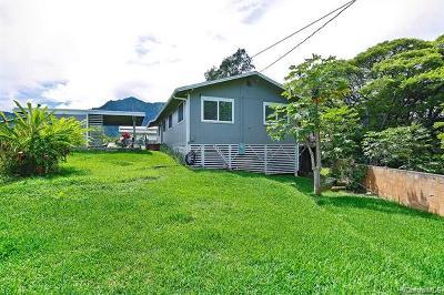 Waimanalo Single Family Home For Sale: 41551 Piohia Place