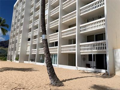 Waianae Condo/Townhouse For Sale: 84-965 Farrington Highway #A205