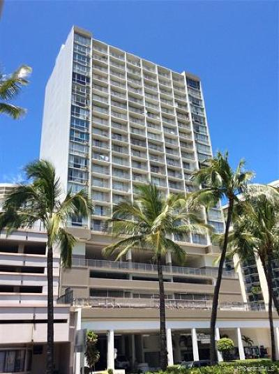 Honolulu Condo/Townhouse For Sale: 1920 Ala Moana Boulevard #1710