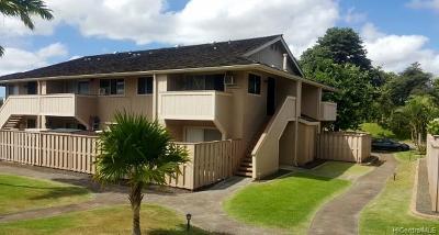 Waipahu Condo/Townhouse For Sale: 94-1004 Kaukahi Place #K12