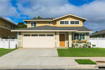 Ewa Beach Single Family Home For Sale: 91-1268 Kilipue Street