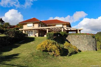 Honolulu Single Family Home For Sale: 4958 Mana Place