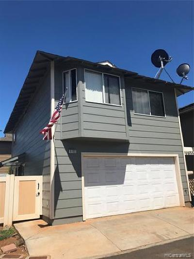 Ewa Beach Single Family Home For Sale: 91-1033 Hoomaka Street #66