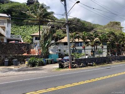 Kaaawa Single Family Home For Sale: 51-680 Kamehameha Highway