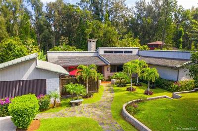 Haleiwa Single Family Home For Sale: 59-642 Pupukea Road
