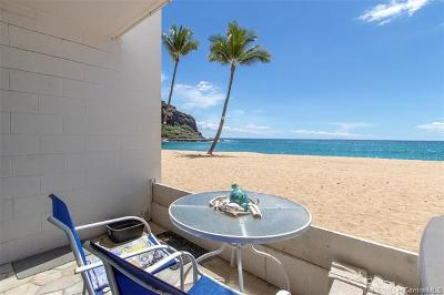 Waianae Condo/Townhouse For Sale: 84-965 Farrington Highway #A106