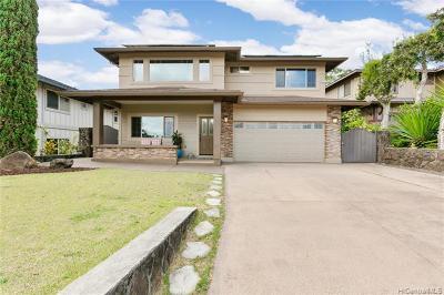 Mililani Single Family Home For Sale: 95-218 Kaeolau Place