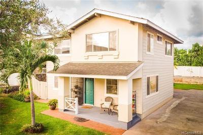 Waipahu Single Family Home For Sale: 94-1066 Halekapio Street