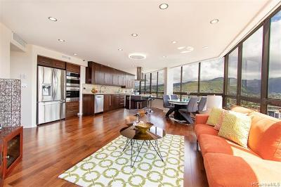 Honolulu Condo/Townhouse For Sale: 2499 Kapiolani Boulevard #3701